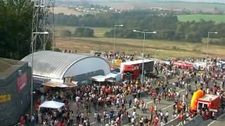 preview picture of video 'Valík - otevření dálničního tunelu u Plzně - září 2006'