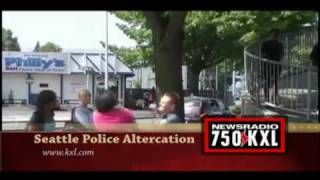 Seattle Police Altercation - Slow Motion