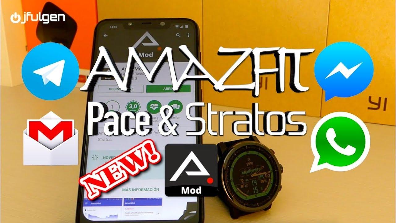 Como responder WhatsApp em um Xiaomi Amazfit Stratos ou pace