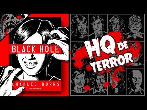 Quadrinho BLACK HOLE, de CHARLES BURNS   Resenha, DarkSide Books