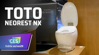 Trên tay bồn cầu giá 10 ngàn đô TOTO Neorest NX