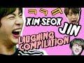 Download Lagu BTS JIN KIM SEOK JIN laughing compilation Mp3 Free