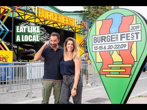 Με τον Γιώργο Λιανό στο Burger Fest για να δεις τι θα φας αυτό το ΠΣΚ   Eat Like A Local