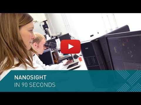 Nanoparticle Tracking Analysis - NanoSight in 90 Seconds