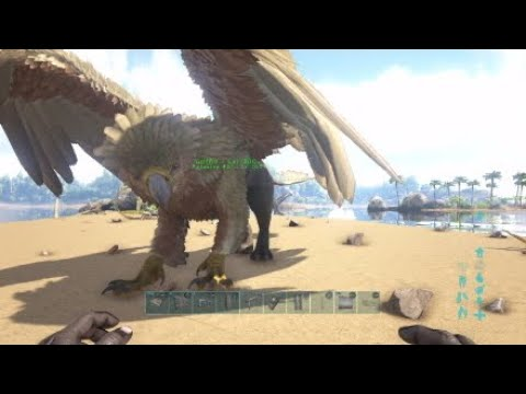 ARK How to spawn in a GRIFFIN w/CONSOLE COMMANDS (ANY LEVEL