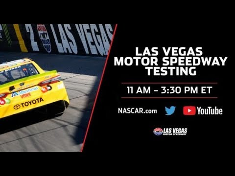 LIVE: Las Vegas Motor Speedway Testing
