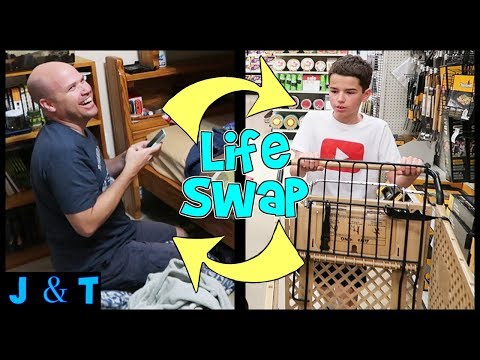 Jake and Dad Switch Lives For A Day / Jake and Ty