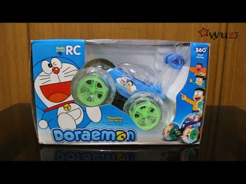 Children Toys RC 360 Degree Rolling Stunt Cars