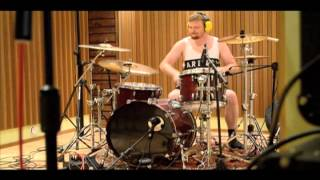 Setting The Woods On Fire studio update day 2 - drums 02.07.2013