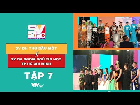 SV 2020 | Tập 7 | 26/12/2020 | ĐH Thủ Dầu Một VS ĐH Ngoại ngữ Tin học TP Hồ Chí Minh | VTV24