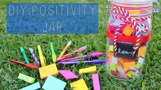 DIY || Positivity Jar