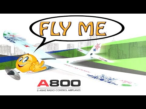 XK a800 , watch this video before you buy. Remote control 4 channel airplane glider for beginners