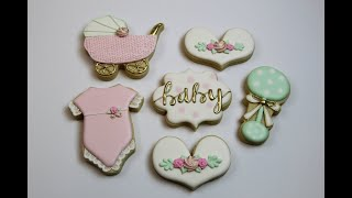 How To Make Baby Shower Cookies!