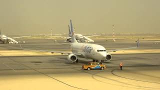 flydubai airlines at Muscat Airport Oman