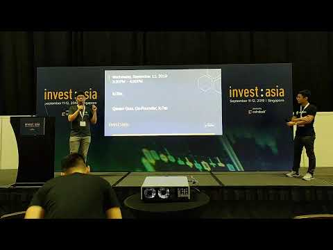 CoinGecko is now live with Andy Ji from Ontology, exclusive from Changelog at Invest Asia