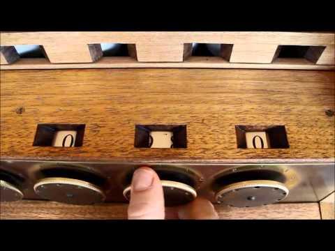 Машина Шиккарда: умножение на двузначное число
