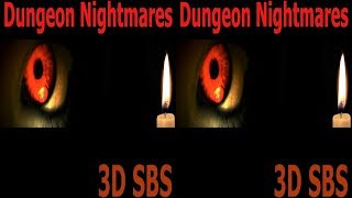 3D VR video 3D TV VR box google cardboard Dungeon Nightmares