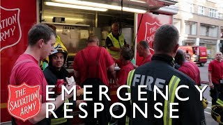 How The Salvation Army support the Emergency Services