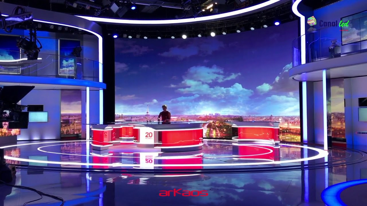 France 2 News with ArKaos