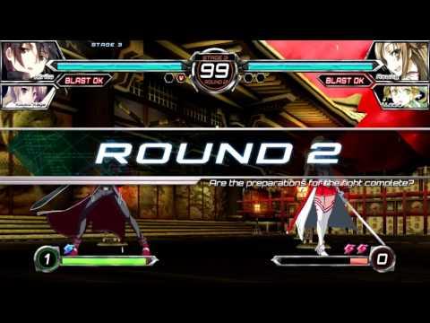 PS3 Longplay [152] Dengeki Bunko Fighting Climax