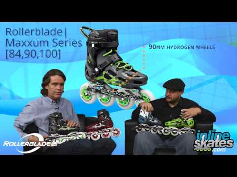 Video: 2016 Rollerblade Maxxum Series Mens and Womens Inline Skate Overview by InlineSkatesDotCom