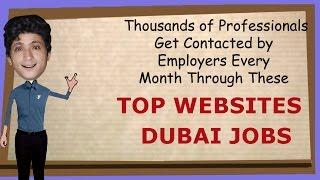 Jobs In Dubai   Job Search Websites