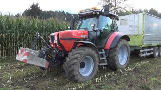 preview picture of video 'Maisernte 2013 (Fendt, Same, Steyr, Lindner) // Agroteam Tirol'