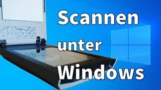 Scannen mit Windows