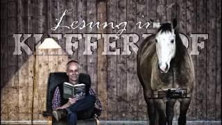 Lesung Pferdeflüstern für Manager, Bernd Osterhammel im Kiefferhof