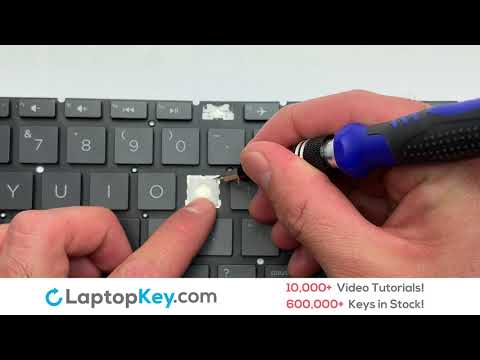 HP Keyboard Keys Repair Installation Notebook 15-DA (Black) 15-DB (Black) 15-DA053WM 15-DB0000