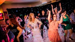 Amazing Can't Stop The Feeling Wedding Flash Mob!
