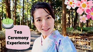 I Wore A KIMONO To A TEA CEREMONY 🍵Ibaraki, Japan