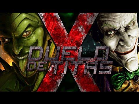 Baixar Música – Coringa vs. Duende Verde – Duelo de Titãs – 7 Minutoz – Mp3