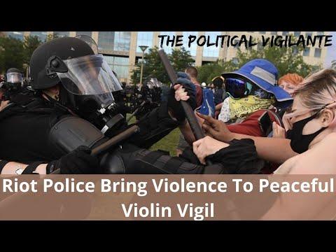Cops Crash Violin Vigil For Kid They Murdered