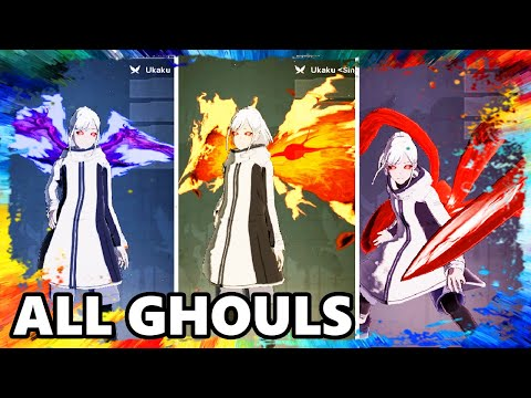 TOKYO GHOUL:re [CALL to EXIST] ALL GHOULS SKILLS ABILITIES SPEACIAL ATTACK Gameplay Let's play Game