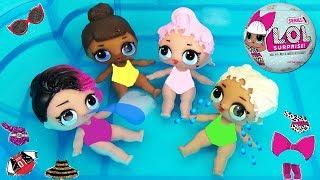 Куклы ЛОЛ СЮРПРИЗЫ Малышки меняют цвет Шарики с пупсами L.O.L. Surprise Ball Toys Baby