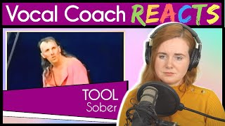 Vocal Coach reacts to Sober by Tool