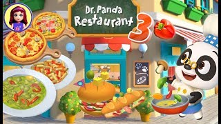 Dr. Panda Restaurant 3 App Gameplay with Millie & Me Kids Toys