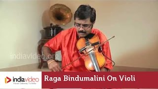Raga Series - Raga Bindumalini on Violin by Jayadevan