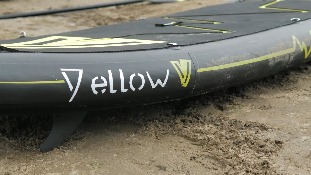 YELLOW V SUPBOARDS