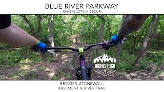 BRIDGER TO STONEWALL TO BASEMENT & RIVER TRAIL