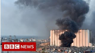 A large blast has hit the Lebanese capital, Beirut, causing widespread damage and injuring many people, officials say.  It is not yet clear what caused the explosion in the port area of the city. Video posted online showed a large mushroom cloud and destroyed buildings.  Hospitals are said to be overwhelmed by casualties.  It comes at a sensitive time with the country's economic collapse reigniting old tensions.  Tensions are also high ahead of the verdict in a trial over the killing of ex-PM Rafik Hariri in 2005. A UN tribunal is due to issue its verdict in the trial of four suspects in the murder by car bomb of Hariri on Friday.  Please subscribe HERE http://bit.ly/1rbfUog  Lebanon's health minister, Hamad Hasan, has spoken of many injuries and extensive damage.  Reuters news agency quotes sources as saying 10 bodies have been pulled from the wreckage.  The cause of the explosion is still not known, but some reports suggest it may have been an accident. Lebanon's National News Agency reported a fire breaking out at what it called an explosives depot at the port.