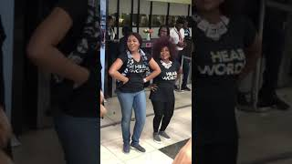 New born baby's song in Yoruba language at the Airport