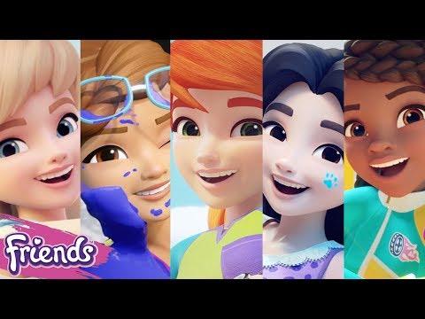 Lego Friends Character Spot 2018 Compilation Meet Olivia Andrea