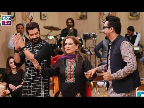 """Guess the Song"" is played by Faysal Qureshi,Parveen Akber,Asma & Fazyla Lashari"