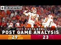 Clemson vs Ohio State Post Game Analysis: Tigers battle back in terrific Fiesta Bowl   CBS Sports HQ