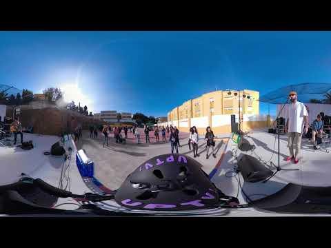 Grupo musical pájaros rotos en el Festival Ampatízate en directo/ 360º
