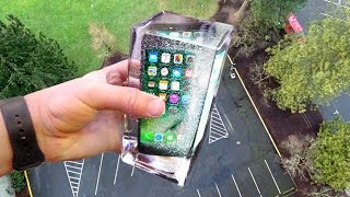 Can Simulated Water Protect iPhone 7 from 100ft Drop Test? - Gizmoslip