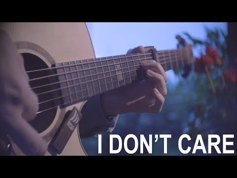 Ed Sheeran & Justin Bieber - I Don't Care - Fingerstyle Guitar Cover - Peter Gergely