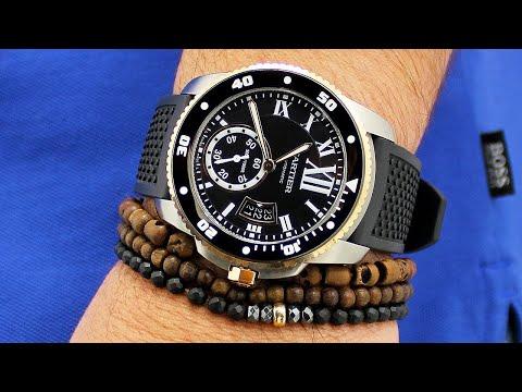 Cartier Watches – Calibre Diver Men's Watch